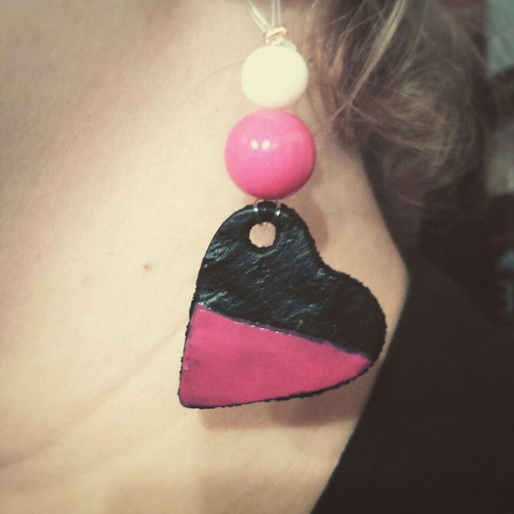 Clay earrings!!