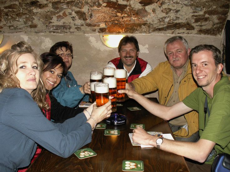 Cheers! - with Friends in Prague.