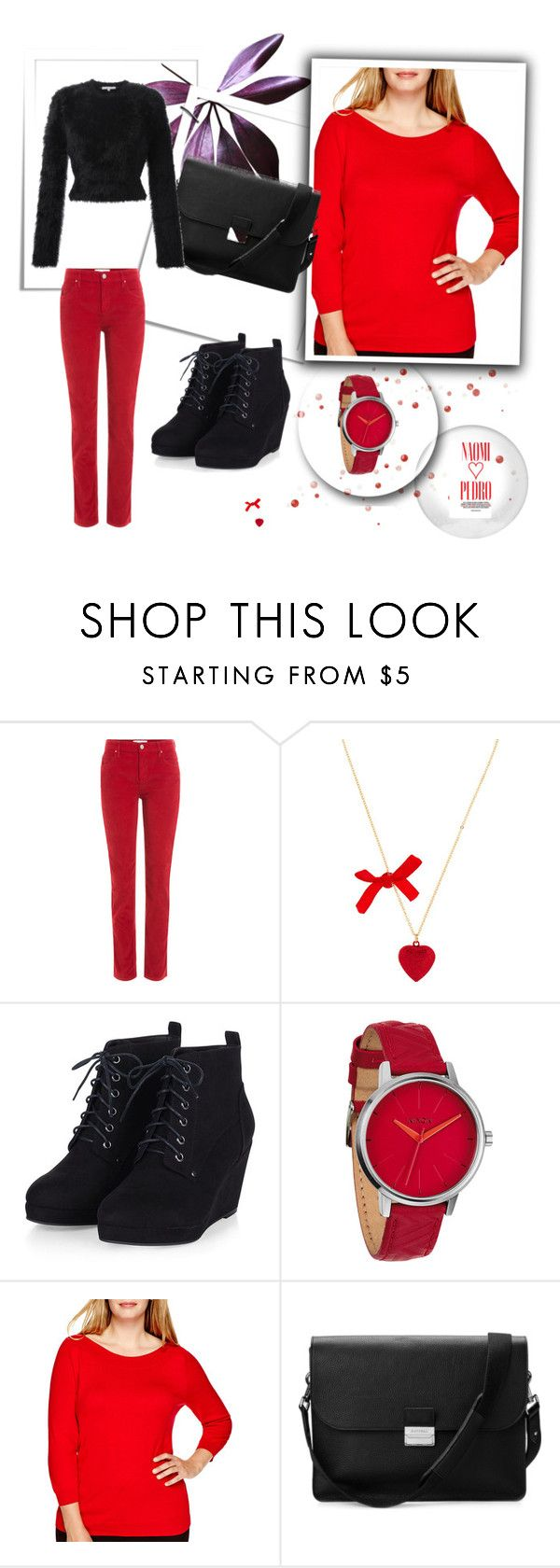 """FOR EVERY DAY"" by ratceatanasova ❤ liked on Polyvore featuring Étoile Isabel Marant, Nixon, Naomi Campbell, Worthington, Aspinal of London, Carven and plus size clothing"