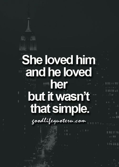It never is..