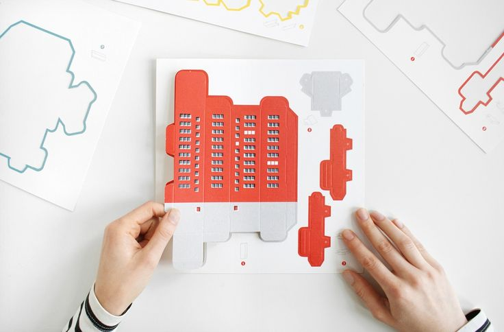The Constructivists allows you to build your own paper Russian constructivist playground