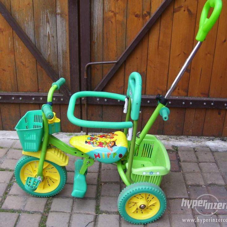 Dětská tříkolka z bazaru