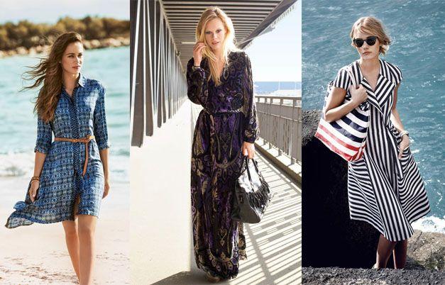 Длинные летние платья 2015: главные тенденции #burdastyle #burda #мода #fashion