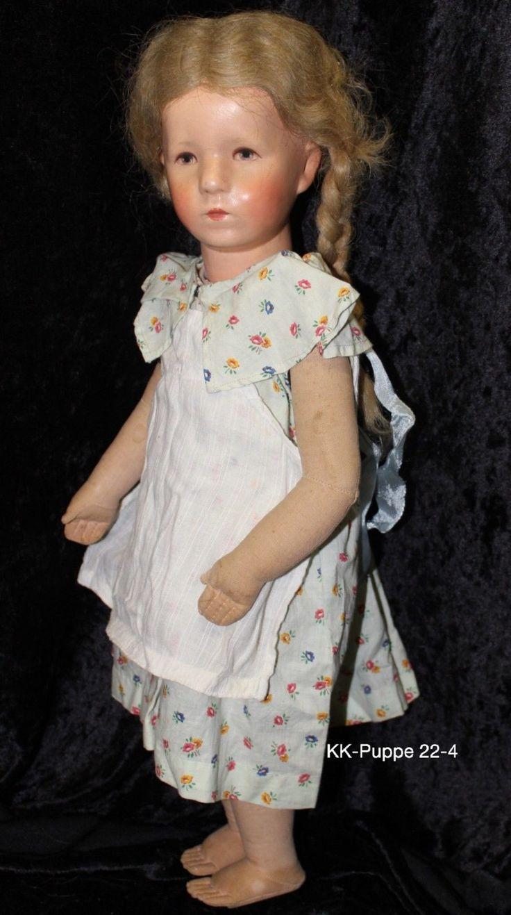 Los 22 alte Käthe Kruse Puppe, Deutsches Kind ca. 52 cm groß, | eBay