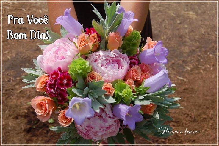 Mensagens Com Flores De Bom Dia: Frases De Bom Dia