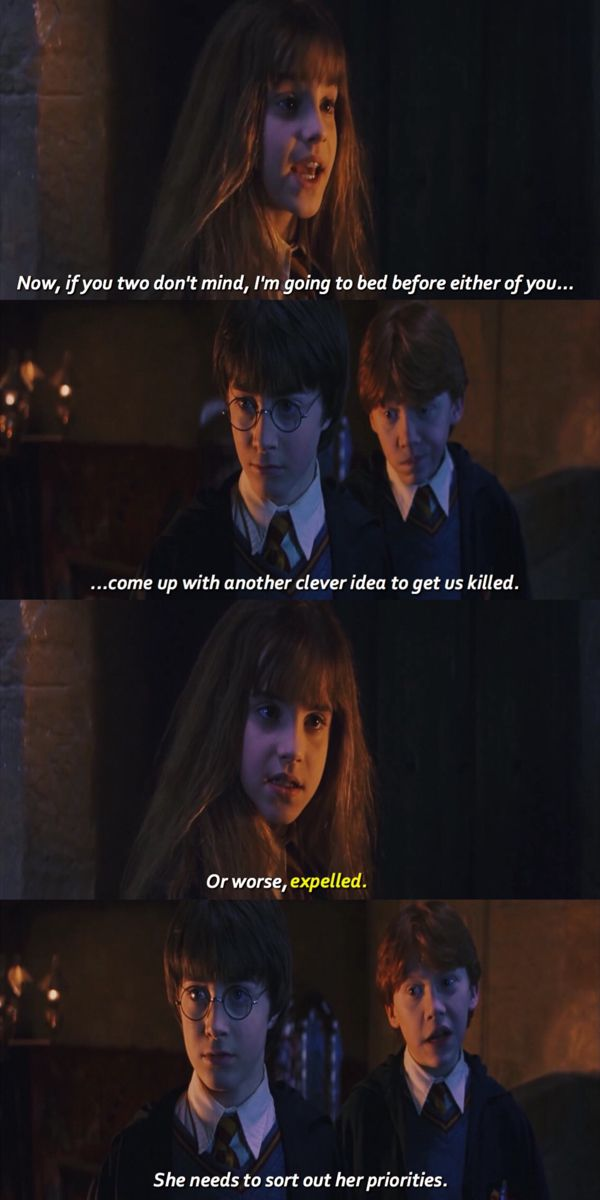 Or Worse Expelled Slytherin Harry Potter Harry Potter Scene Hermione Granger Quotes