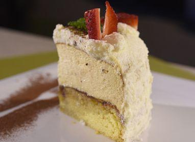 Veľkonočná šľahačkovo-karamelová torta