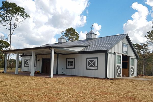 Moreland GA, Horse Stable, Jordan Building Construction LLC