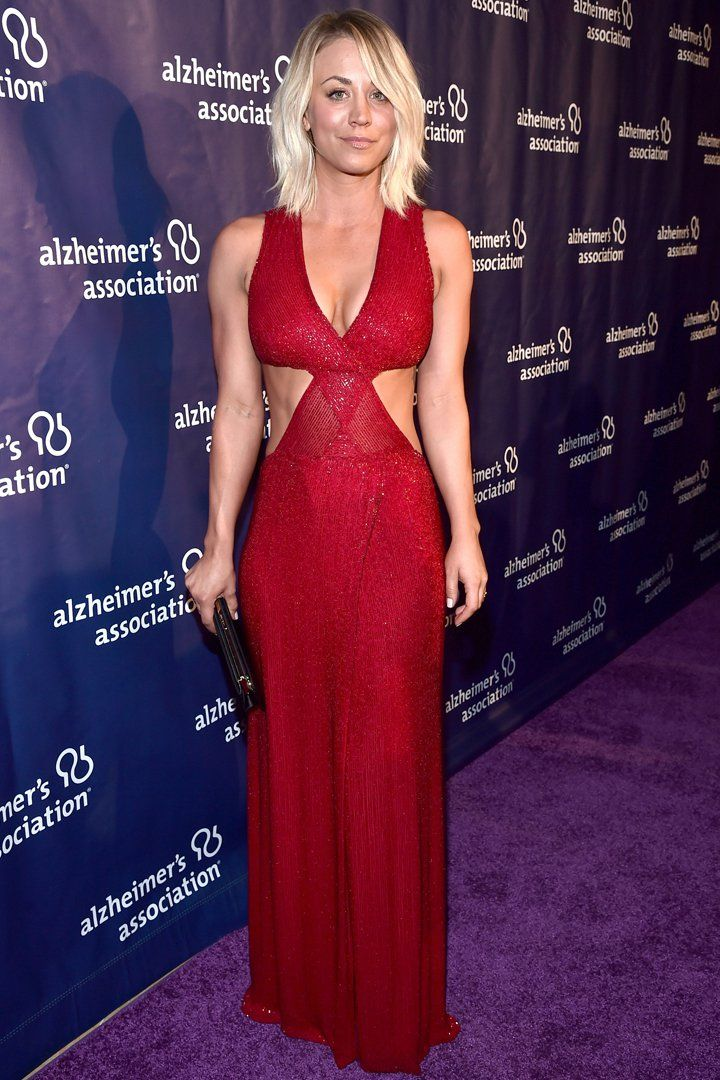 We Guarantee You've Never Seen Kaley Cuoco in Such a Sexy Look