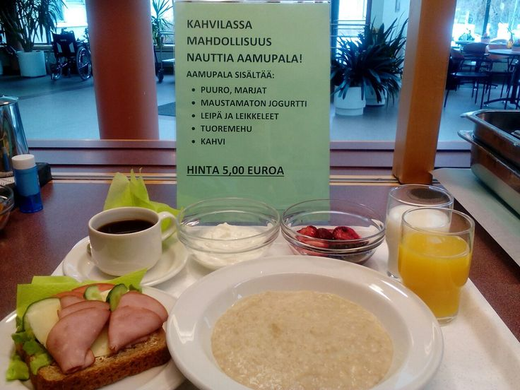 Kahvilan aamupala