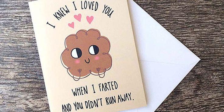 """Cartões para dizer """"Eu te amo"""" de uma forma nada convencional"""