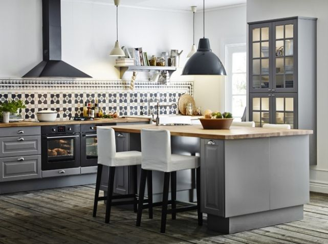 1000 ideas about grey ikea kitchen on pinterest gray. Black Bedroom Furniture Sets. Home Design Ideas