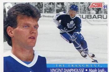 1991-92 Score American #338 Vincent Damphousse Front