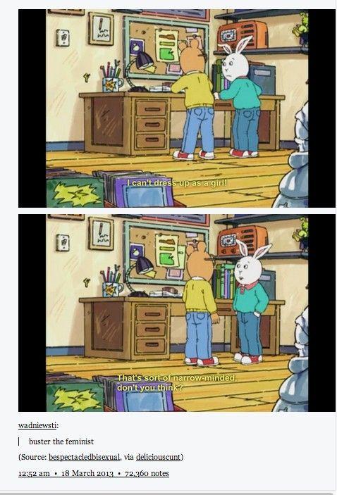 Feminism in Arthur