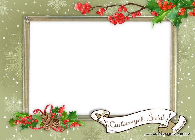 Foto Kartka - Boże Narodzenie 19 [PSD jednowarstwowy]