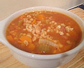 Vegetarian Bean and Barley Vegetable Soup ~ a big hit with the kids: Vegetables Soups, Barley Soups, Vegetables Barley, Vegetarian Beans, Vegetables Beans, Soups Recipe, Barley Vegetables, Beans Soups, Soups Stew
