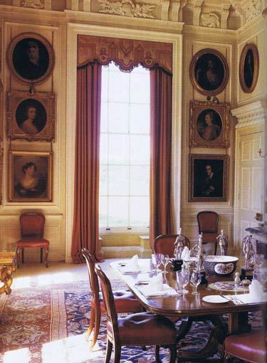 PETWORTH HOUSE, Sussex - London Interior Designer Melissa Wyndham