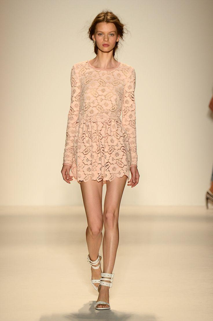 Rachel Zoe Pretty in Pink for NYFW