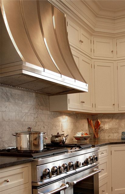 Stainless Range Hoods - Design Chic- picking the perfect stainless hood for your kitchen
