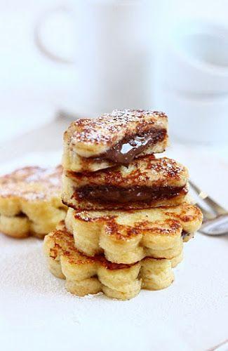 Fiori alla nutella | MIEL & RICOTTA