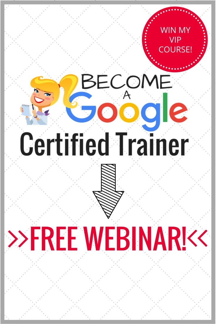 LIVE Webinar and Q&A: How to Become a Google Certified Trainer: Let's find out! Mark your calendar for May 3, 2017 (7:00 PM CST)! I will be doing a LIVE (and FREE) YouTube webinar about the requirements to become a Google Certified Trainer and Q&A to answer all of your questions!!! Plus, there's a chance to win a seat in my online course (details below)!!!