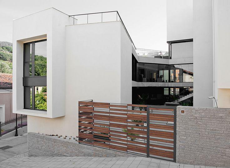 135 best architettura images on Pinterest | Backyard patio, Facades ...