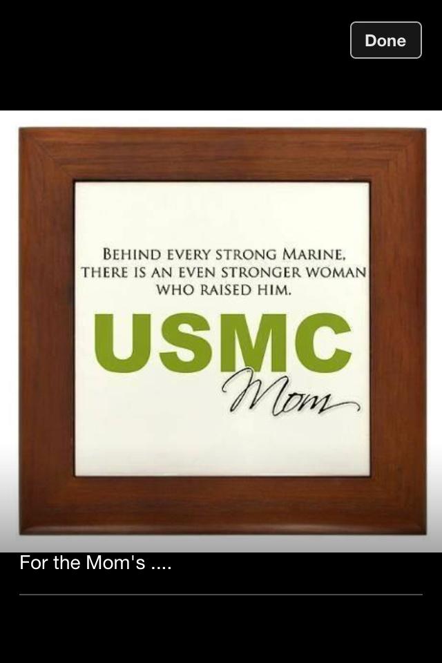 Proud Marine Mom!
