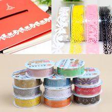 Auto material de escritório adesivas cor aleatória Diy papel Washi decorativa fixo papel Masking Tape OSS-0042(China (Mainland))