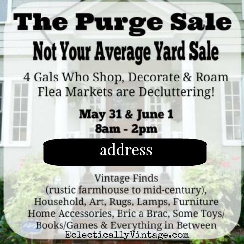 top five yard sale advertising tips Yard sales are a great place to find these items for super cheap rusted cast iron can be restored by baking and greasing it, so don't let that scare you away from a good buy just make sure it isn't rusted through.