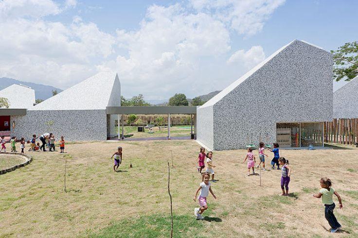 Timayui Kindergarten by Giancarlo Mazzanti -- Santa Marta, Colombia #architecture