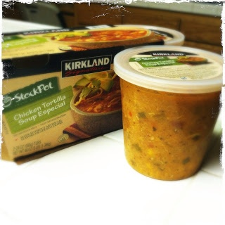 Costco Kirkland Chicken Tortilla Soup: Only 3 WW Plus points for a one cup serving!