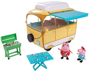 Peppa Pig Family Camper Van Playset   ToysRUs