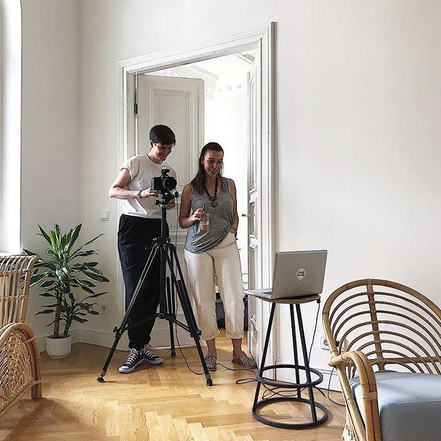Photo production of our @ibc_studio with skilled photographer @anne_deppe #ibc_studio #impulse_bc #studiospace #rentalstudio #productionday #shootingday #behindthescenes #interiordesign #pragency #berlin #wilmersdorf