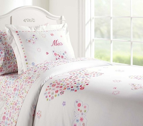 Mia Duvet Cover Pottery Barn Kids