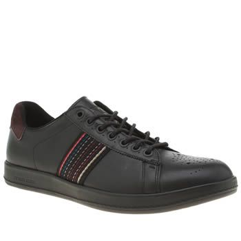 Paul Smith Shoe Ps Black Rabbit Mens Trainers Paul Smith serve up their popular Rabbit profile for the new season, this time arriving with a black leather upper and colourful webbing overlay. The smart/casual shoe is complete with brown suede ove http://www.MightGet.com/january-2017-13/paul-smith-shoe-ps-black-rabbit-mens-trainers.asp
