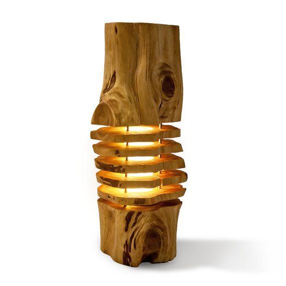 Solehab Acacia Wood Light Sculpture от Solehab на Etsy