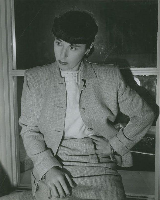 Edith Head (October 28, 1897 – October 24, 1981)