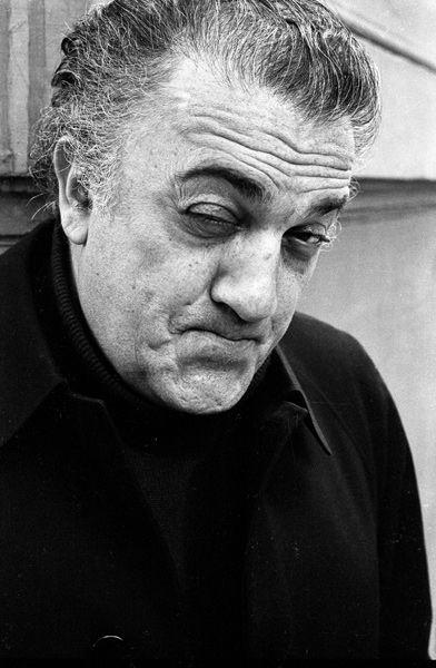 Federico Fellini by Sandro Becchetti