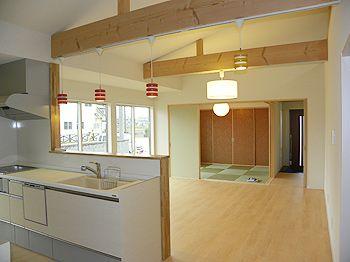 家族が育つロフト付平家|施工事例|香川県高松市の新築一戸建て・土地情報・土地活用・戸建賃貸|エヌケー建設株式会社|