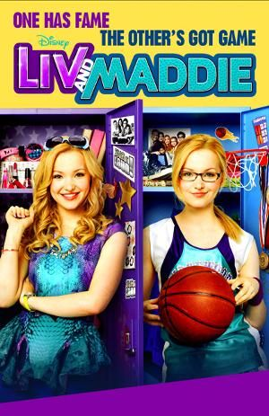 "liv and maddie ! Just figured out they did imagine dragons on top of the world song on Liv's show ""Sing It Loud"" :)"