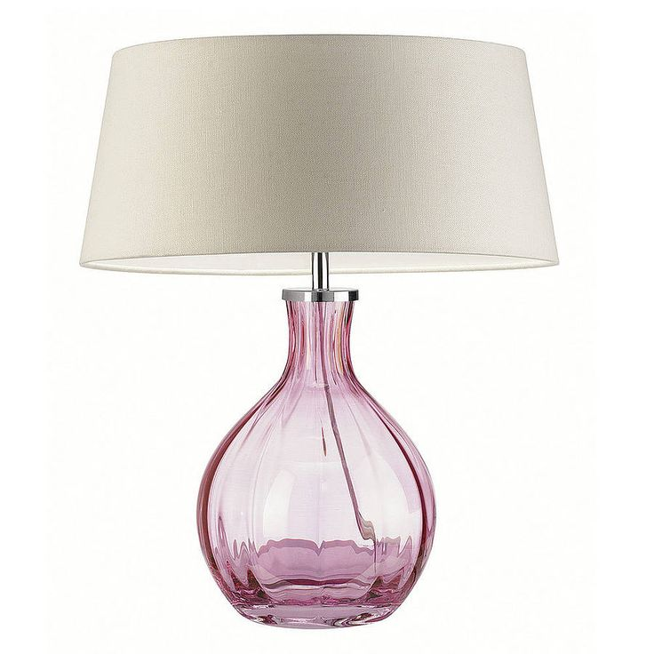 10 best How to choose glass table lamps for your home ...