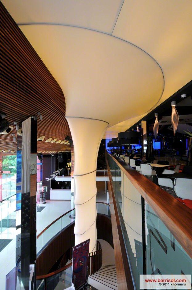 A column transformation « Blog – BARRISOL Canada – Stretch Ceiling