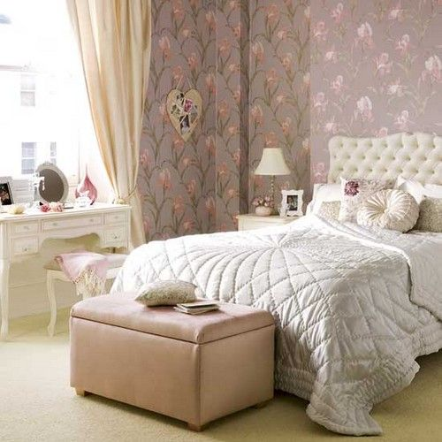 modern vintage bedroom furniture decorating ideas - Vintage Bedrooms Decor Ideas