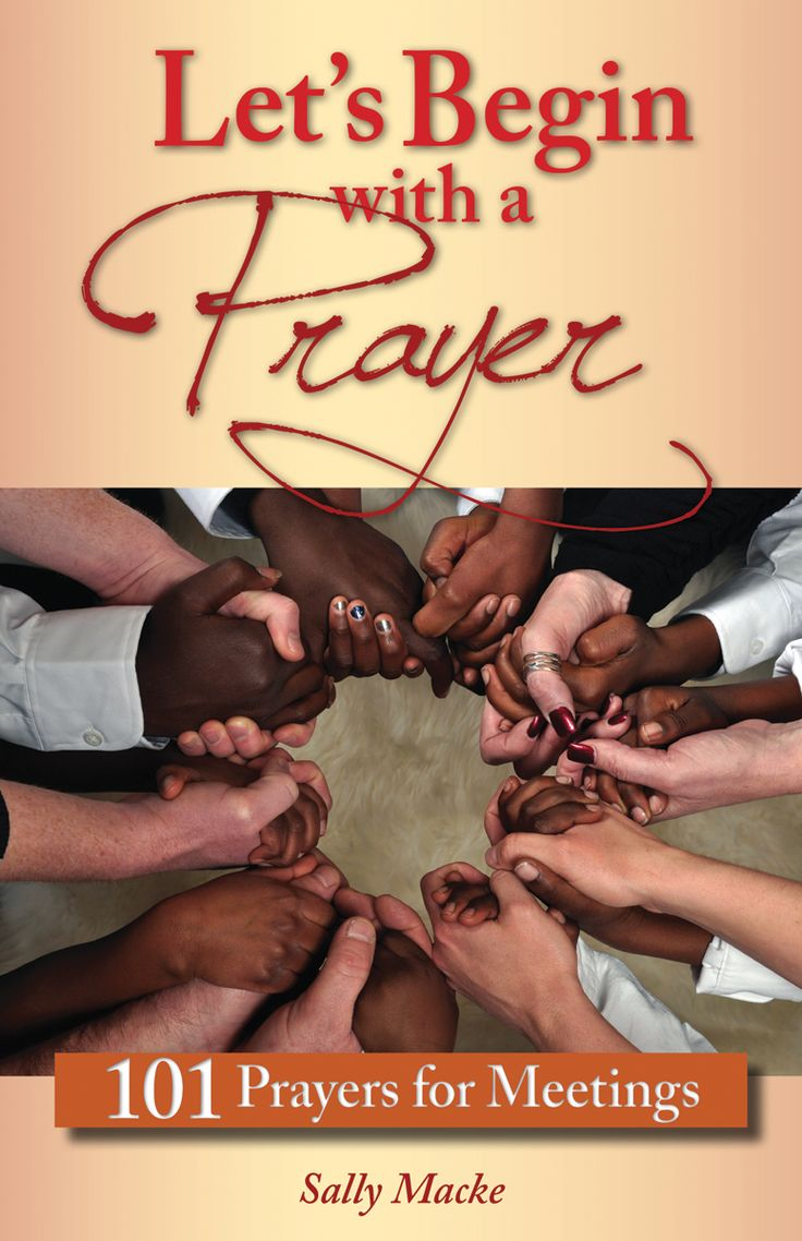 From board meetings to book clubs, large assemblies to small groups, this brand new book of original prayers will become your best resource for bringing groups together in prayer to the Spirit for help furthering their mission. Each prayer starts with a Scripture quote and includes a short meditation. To sample the prayers, go here: http://marketing.liguori.org/acton/attachment/11528/f-00b8/1/-/-/-/-/LetsBeginWithAPrayer%20sample%20pages.pdf For more information, click on the image.