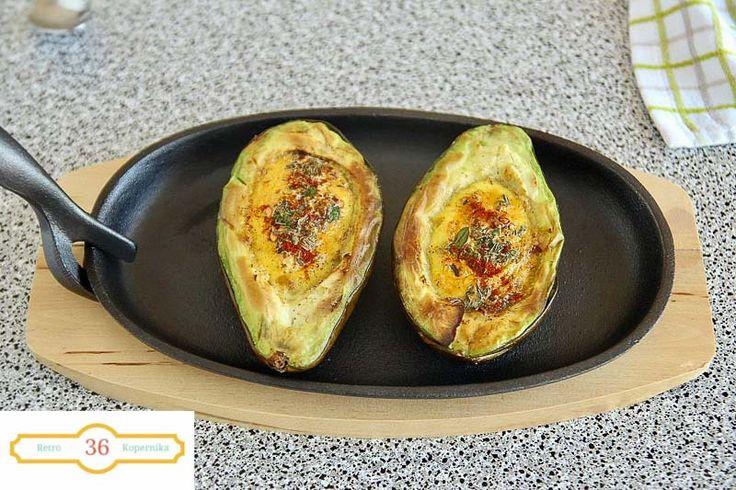 Jajko w awokado,czyli jajokado,dziś zrobione ,nie można przestać jeść!