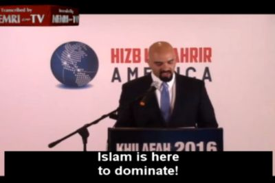 At least there is one Muslim in #America who is open and honest about what #Islam is and what it is here for. No taqiyya, no mincing of words. Islam is here to dominate. Haitham Ibn Thbait, of the American chapter of Hizb Ut-Tahrir, told American Muslims earlier this year that Islam was not here …