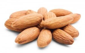 raw almonds for almond milk recipe