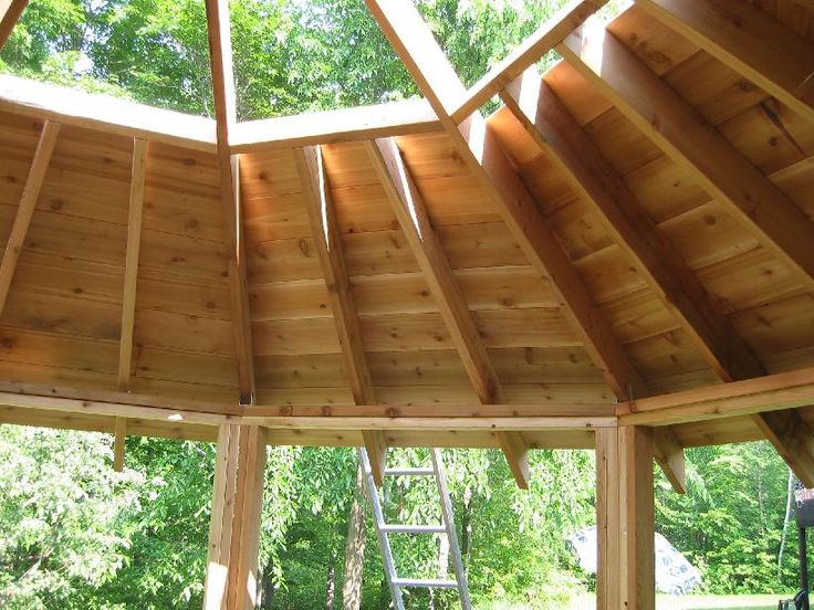 Gazebo Roof Designs | TIP : Tominimize waste, transfer cut end of board to right side of saw ...