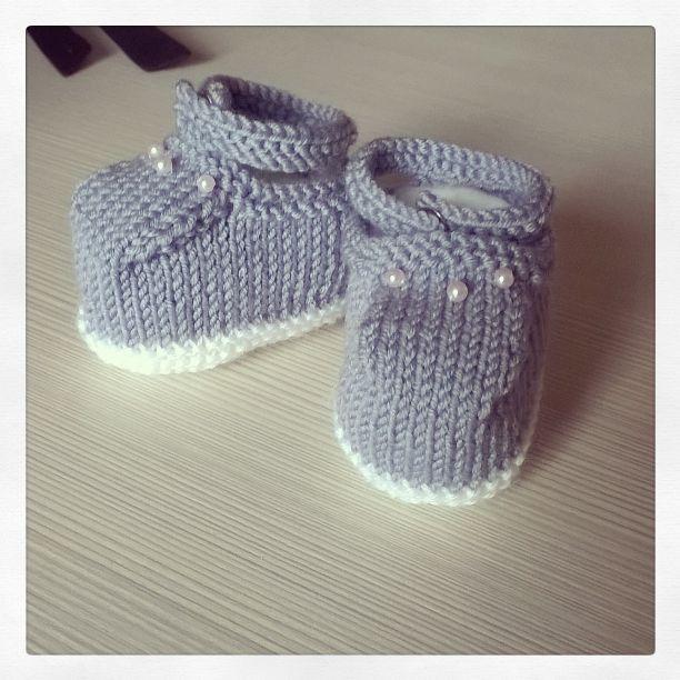 Scarpine neonata grigio