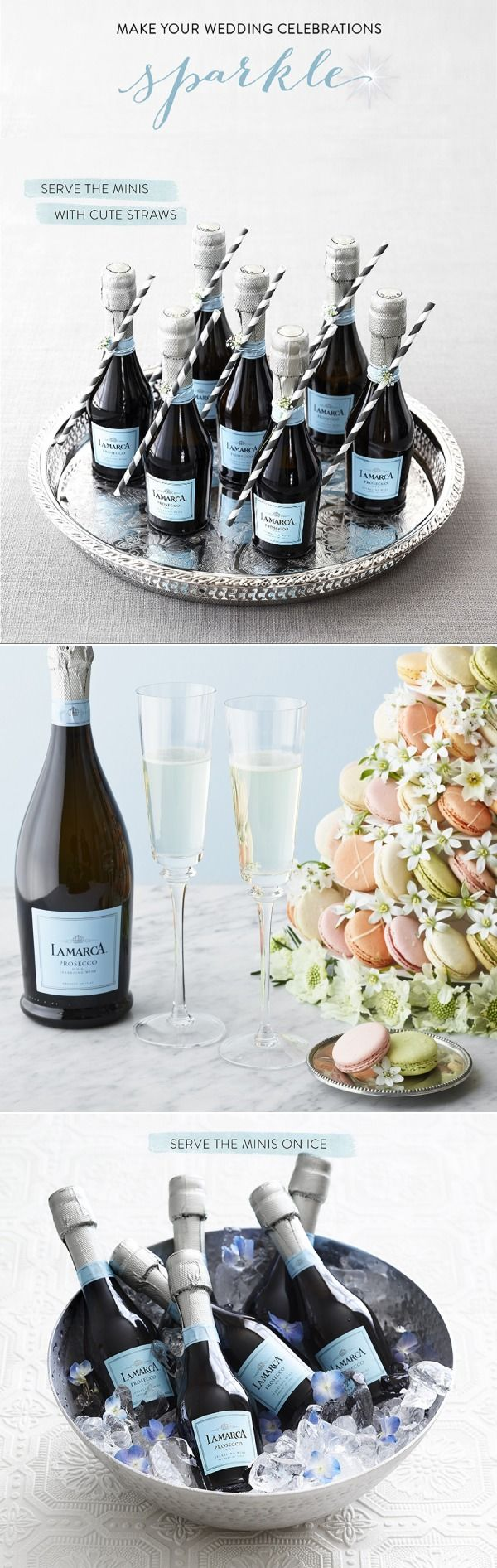 I absolutely love La Marca Prosecco! The mini bottles are also perfect for so many occasions!
